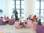 江西:寒假马上到来 图书馆里读书乐
