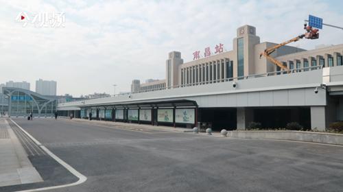 南昌火車站東廣場22日啟用  最強無縫銜接來啦!