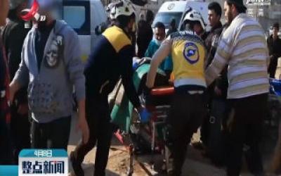 叙利亚中部一城市遭炮击致5死15伤