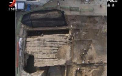 太原地铁施工挖出明代古桥已被搬迁保护
