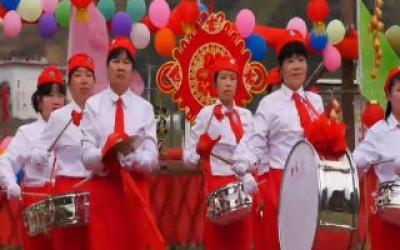 中国乡村年味 杨柳冲百家团圆宴