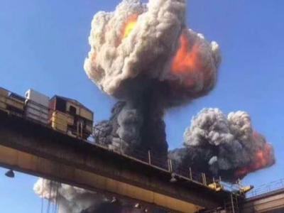 南昌方大特钢爆燃事故:爆燃喷出灼热焦炭造成1死9伤
