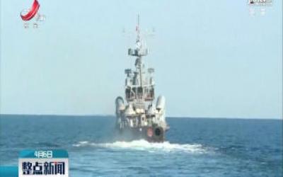 俄黑海舰队举行导弹艇演习并发射反舰导弹
