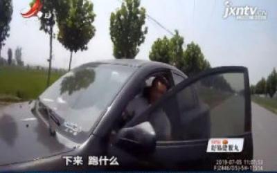 安徽淮南:驾驶报废车辆被查 男子戏精附体