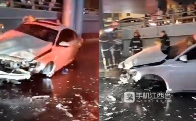 南昌交警通报:老福山立交桥今晨2起坠桥事故2人死亡