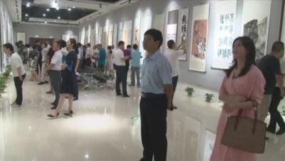我县20余幅作品参加新中国成立70周年全市统战系统书画摄影作品展