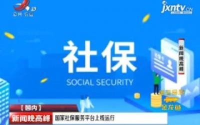 国家社保服务平台上线运行