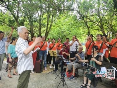 江西:高校学生暑期赴井冈山 接受革命传统教育