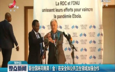联合国将同刚果(金)在安全和公共卫生领域加强合作