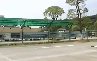 九江武宁:服务区直通景区 不下高速也能游庐山西海