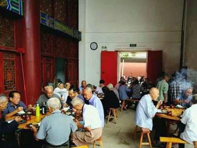 南昌县幽兰镇建爱心食堂 免费为70岁以上老人提供一日三餐