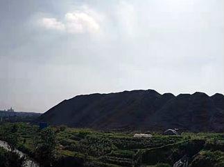 新余渝水废钢渣山变身秀美公园 天蓝水清环境美了