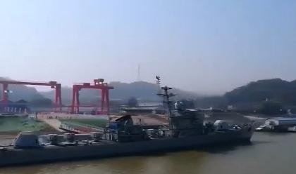 九江舰爱国主义教育基地正式开放