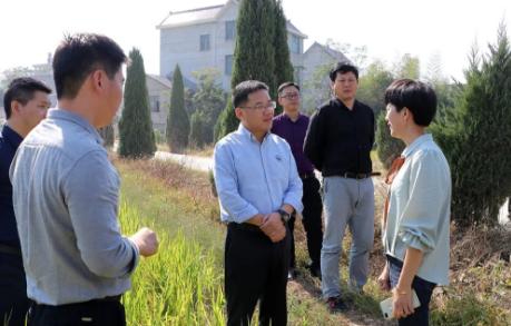 德兴市委书记郭峰现场指导抗旱和森林防火工作