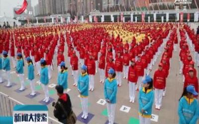 黑龙江诞生一项新的吉尼斯世界纪录:2045人一起品尝大米