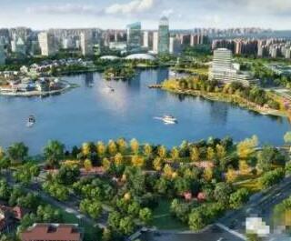 """净化水质!新余建成首个小微湿地""""怡心公园"""""""