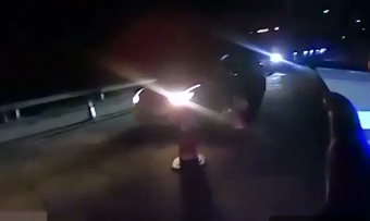 济广高速南丰段:无证司机当场认罚 只求交警不要告诉家人