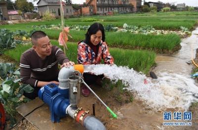 南昌县:打井抗旱保生产