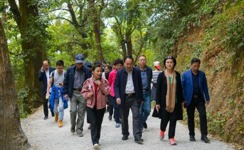"""""""山崖上的古村""""迎来台湾同行,两岸乡村民宿业界交流对话"""