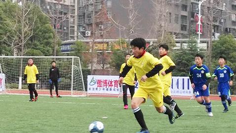 第三届江西省青少年足球俱乐部赛开幕