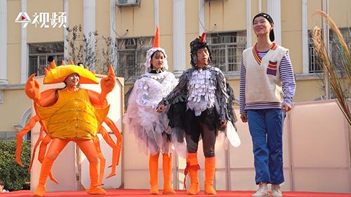 童话剧走进校园 广电小学与鄱阳湖候鸟的相遇