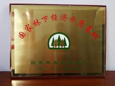 好消息!江西省上山旅游开发有限公司获国家林下经济示范基地授牌
