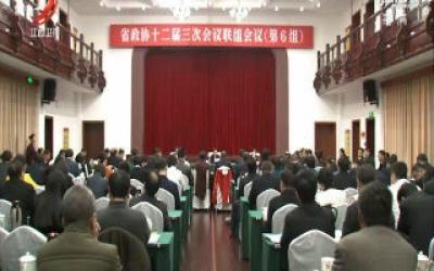 【两会进行时】刘强参加省政协十二届三次会议第六联组讨论
