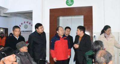 江西省工信厅领导来浮梁开展新春走访慰问活动