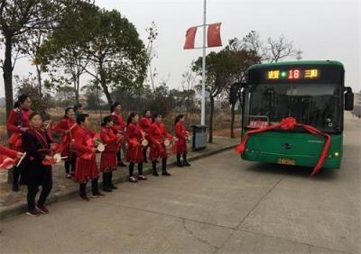 南昌公交开通10条进贤县镇村公交线路