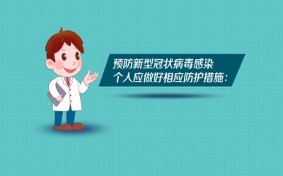 预防新型冠状病 个人防护篇