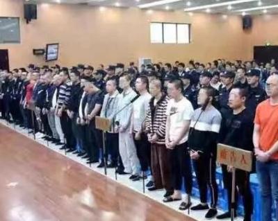 九江去年铲除13个黑社会组织 主犯最高被判23年