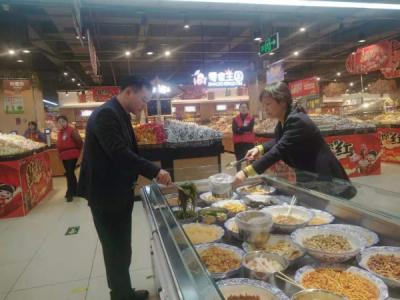 吉水县疾控中心开展春节期间食品安全风险监测工作