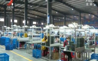 余干县举行项目开(竣)工企业复工复产活动