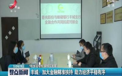 【科学战疫情 硬核促发展】丰城:加大金融精准扶持 助力经济平稳有序