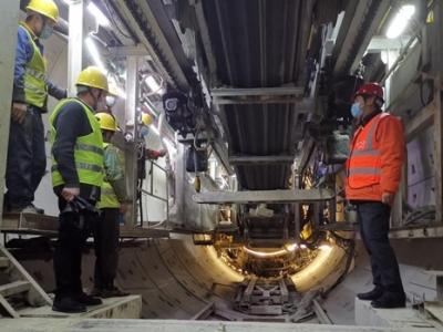 南昌地铁4号线首个标段复工复产