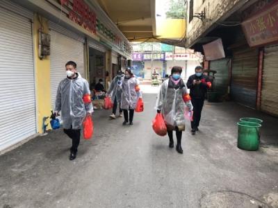 """贵溪雄石街道:""""六个一""""暖心活动全力推进疫情防控"""