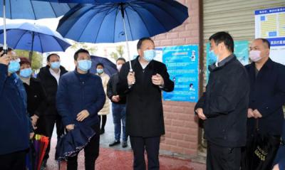 李江河在萍乡经开区督导检查疫情防控工作