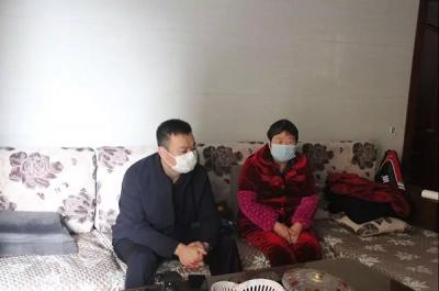 萍乡城郊管委会:走访慰问贫困户 疫情期间显温情