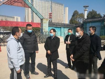 萍乡市严抓建筑工地疫情防控和企业复工复产工作