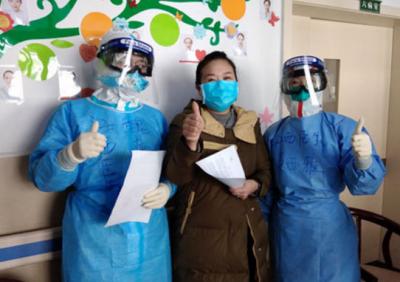 【前线战报】江西医疗队曾都小组首例全程诊疗患者今日出院