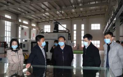 江西省总工会领导到高新区调研企业复工复产
