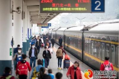 南铁实行新的列车运行图 赣州西站将开通至长沙南高铁