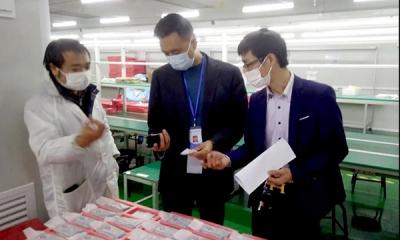 """萍乡经开区新能源、新材料产业办为企业及重点项目复工复产""""疫""""无反顾"""