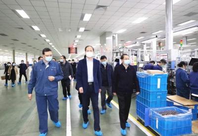 王前虎调研华润燃气有限公司复工复产工作
