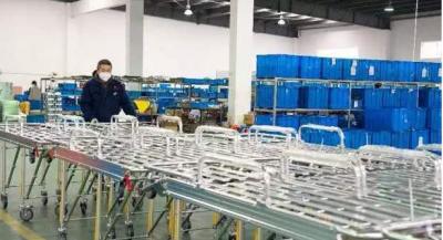昌江区:疫情防控不放松 企业生产马力足
