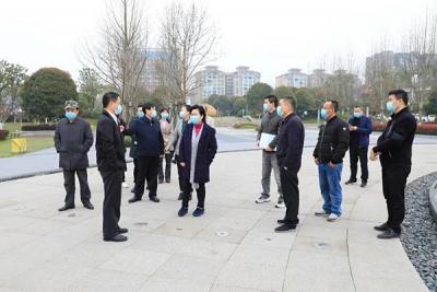 聂晓葵在萍乡经开区调研督导国家公共文化服务体系示范区创建和教育工作