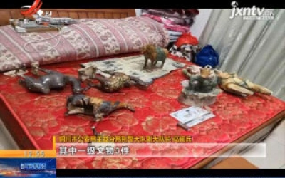 陕西铜川:警方破获特大倒卖文物案 追缴文物356件