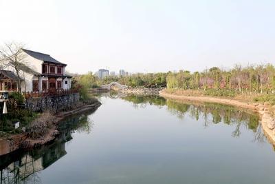 刘建中调研萍水湖湿地公园项目建设