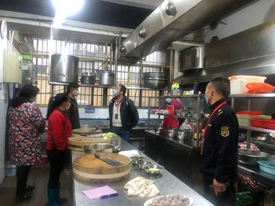 芦溪县开展餐饮企业复工复业督导服务