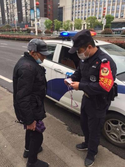 传递暖心正能量 萍乡经开区巡防队员护送迷路老人回家